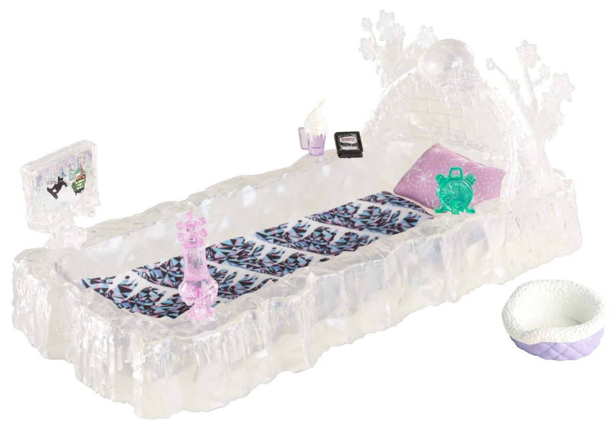 monster high cama da abbey bominable r 140 00 em mercado livre. Black Bedroom Furniture Sets. Home Design Ideas