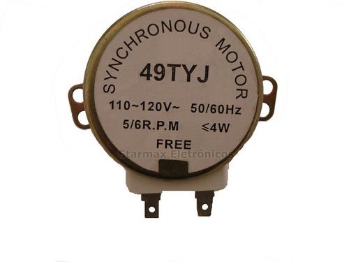 motor do prato de microondas (para diversas marcas)