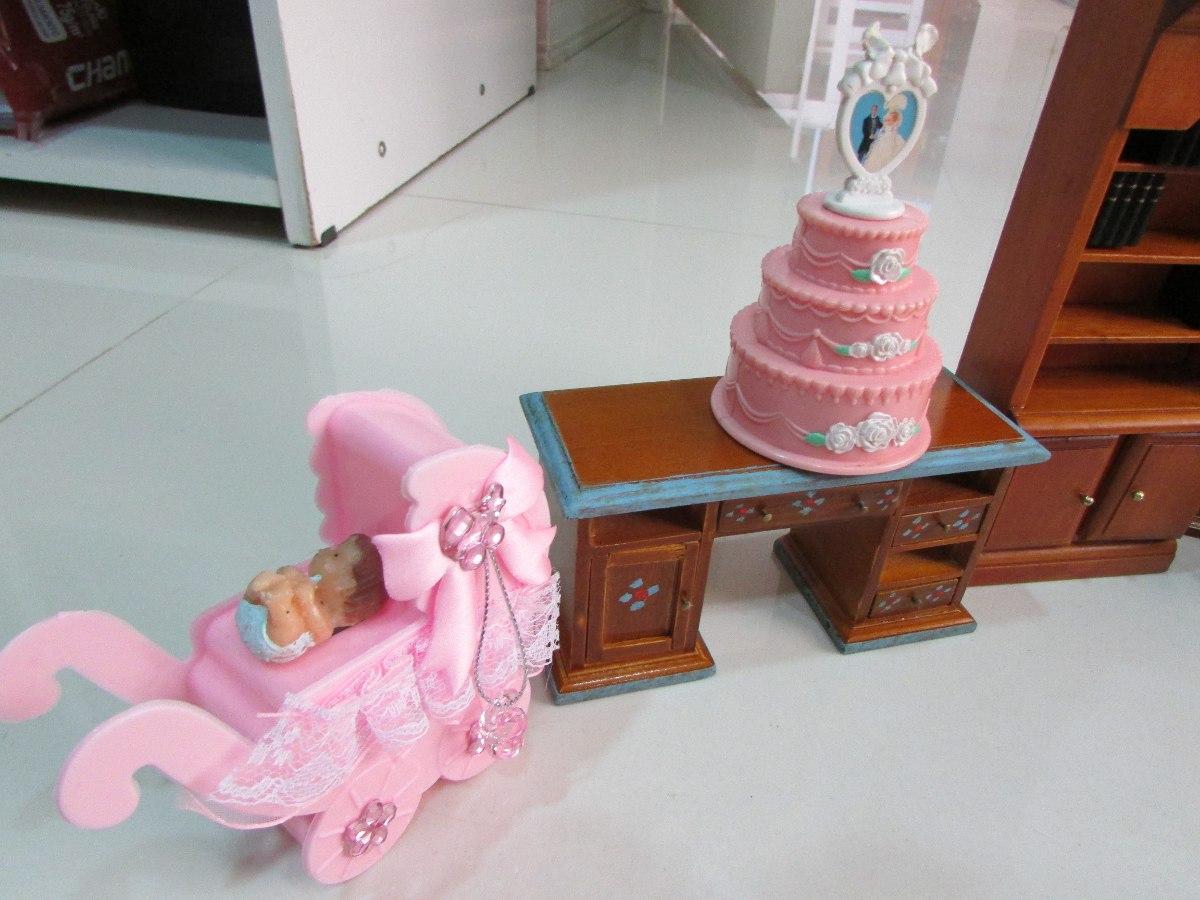 Móveis De Bonecas Madeiracom Acessórios R$ 220 00 em Mercado Livre #723823 1200x900