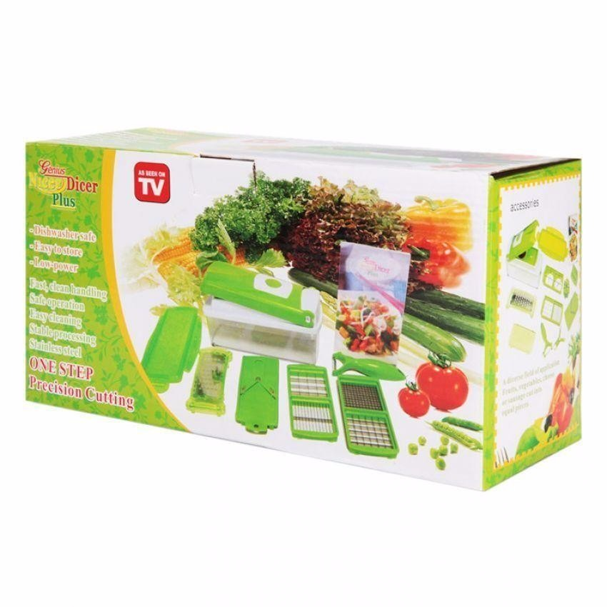 Nicer dicer plus cortador fatiador legumes verduras frutas r 39 80 em mercado livre - Coupe legumes nicer dicer plus ...