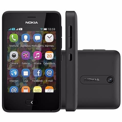 Nokia Asha 501 Dual Chip 3.2mp, Wi-fi, 4gb, Mp3 - R$ 218 ...