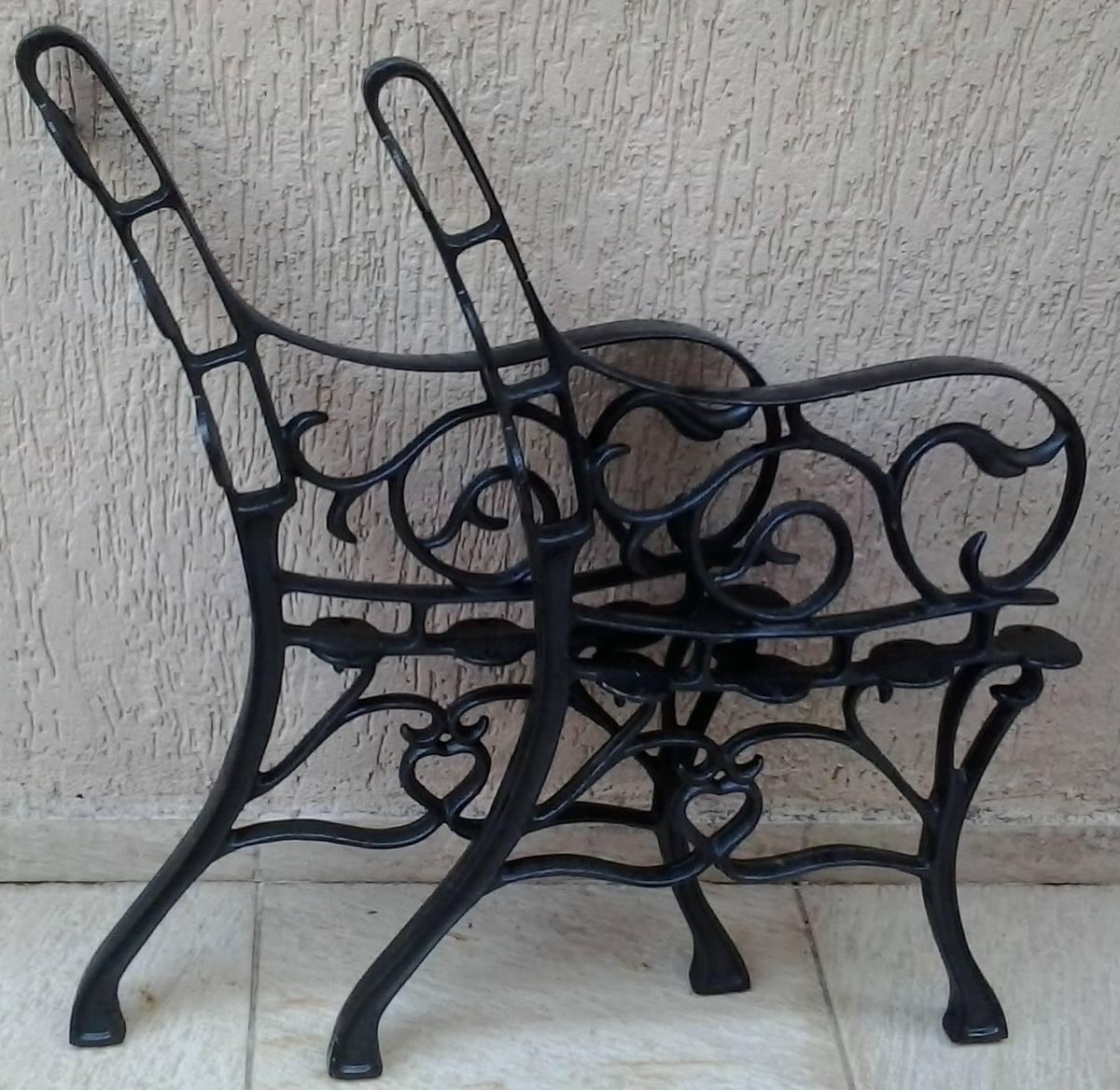 banco de jardim em ferro fundido:Pé Banco De Jardim Ferro Fundido  #4A4F58 1200x1168