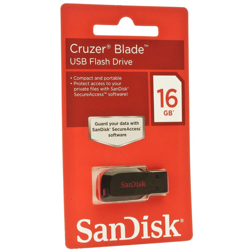 pen drive sandisk cruzer blade sdcz50 16gb pto