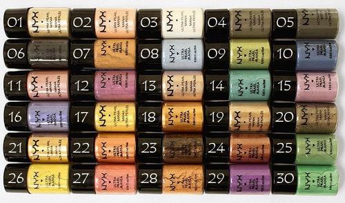 pigmentos nyx (sombra em pó)
