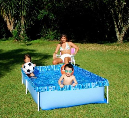 Piscina 1000 litros playground piscinas instalada vinil for Piscina 1000 litros