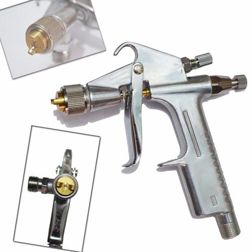 pistola pintura k3 gravidade bico 0.5 ajuste leque aerografo