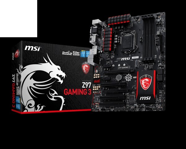 Placa Mãe Msi Z97 Gaming 3 - R$ 770,00 em Mercado Livre