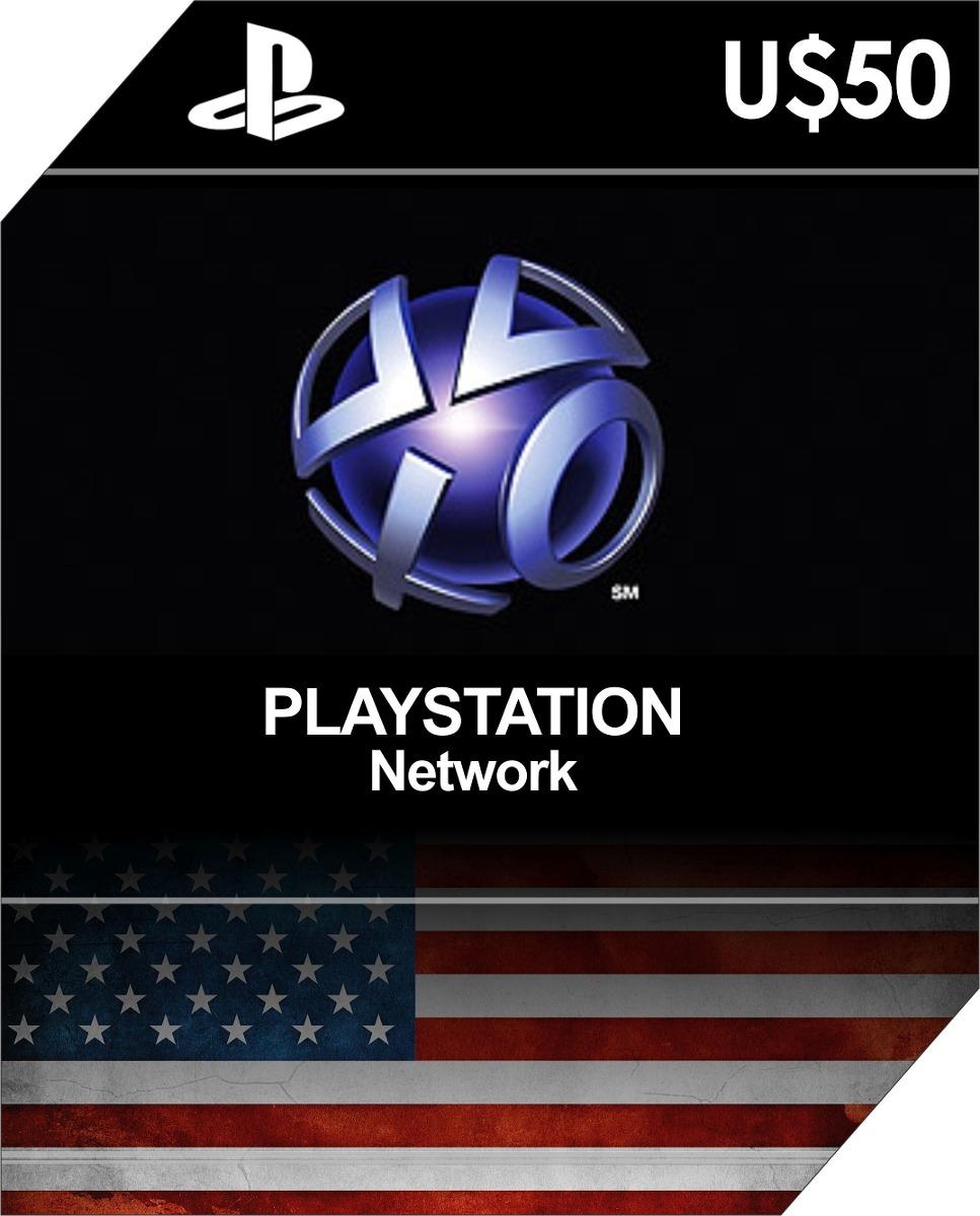 Playstation Network Card 50 Psn Usd Cart227o Ps4 Ps3 Vita