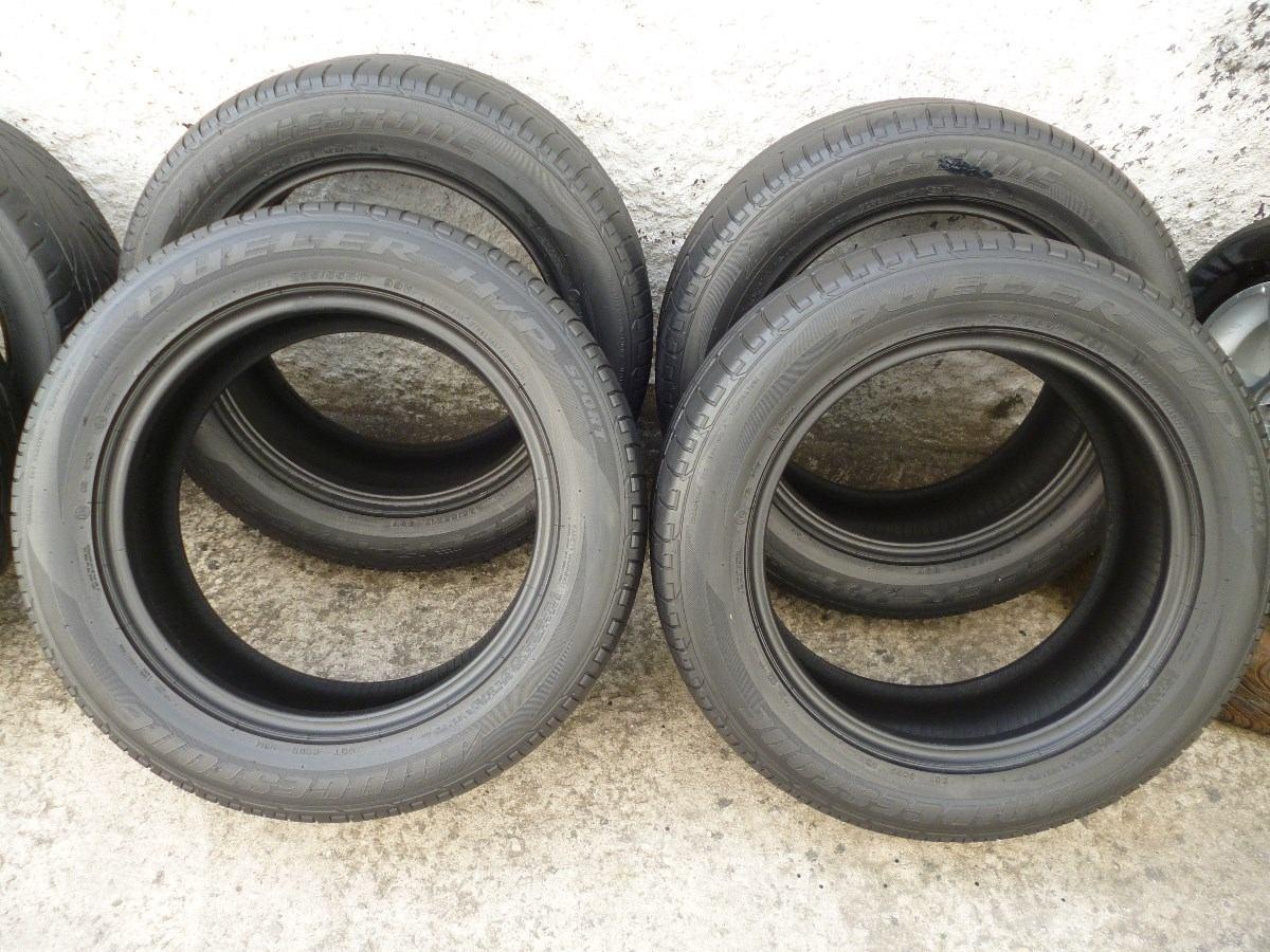 pneus 235 55 17 bridgestone dueler sport meia vida fil r 220 00 em mercado livre. Black Bedroom Furniture Sets. Home Design Ideas