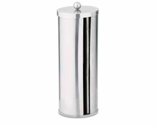 decoracao banheiro papel higienico:Porta Papel Higiênico Inox Banheiro Mundial Hércules Ebr10 – R$ 86
