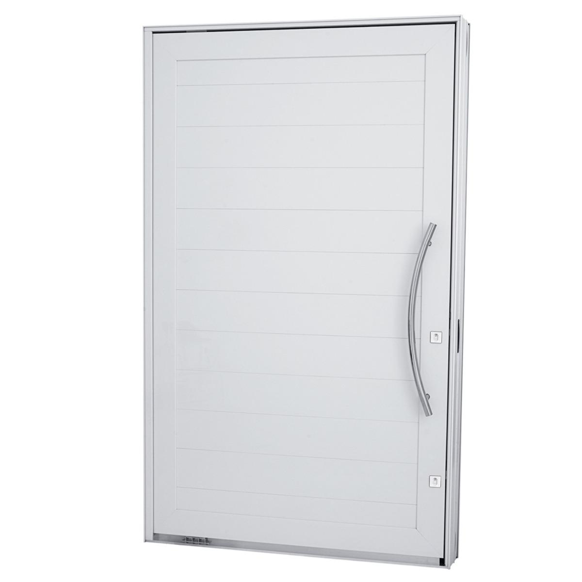 #5D636E Porta Pivotante Em Aluminio Lambris Sasazaki Branc 243x144x1 Pictures  1100 Portas E Janelas De Aluminio Na Telha Norte