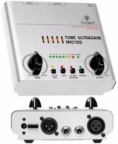 pré amplificador behringer
