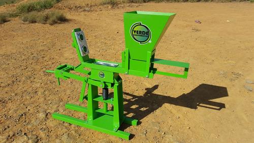 prensa de tijolo ecologico