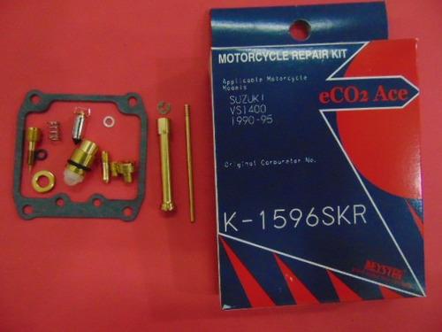 reparo carburador vs1400 intruder keyster k-1596s