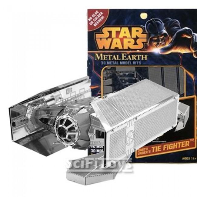 De montar metal 3d star wars tie fighter r 99 95 em mercado livre