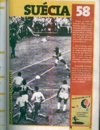 rev. lance todas copas mundo 1930 a 1994 bastante ilustrada