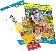 revista de colorir personalizada - lembrança de aniversário