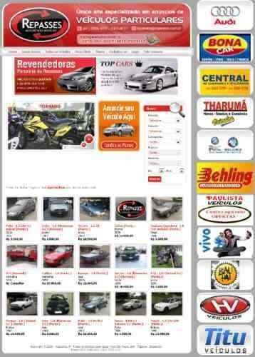 script em php - revenda e classificados de veículos carros
