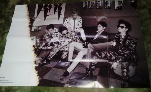 Shinee Poster Original Why So Serious Kpop - R$ 25,00 em ...
