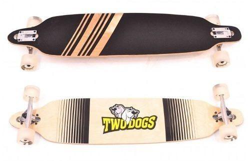 skate longboard twodogs invert abec-11 com truck invertido