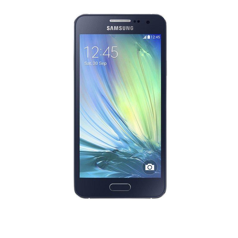 smartphone samsung galaxy a3 desbloqueado 16gb android 4 4. Black Bedroom Furniture Sets. Home Design Ideas