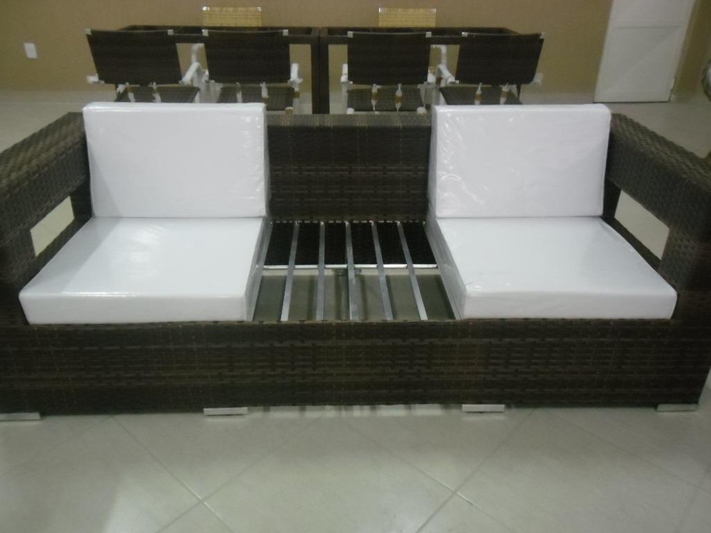 Sofá Em Alumínio De Alta Qualidade E Fibra Sintética R$ 5.950 00  #6C6347 1024x768