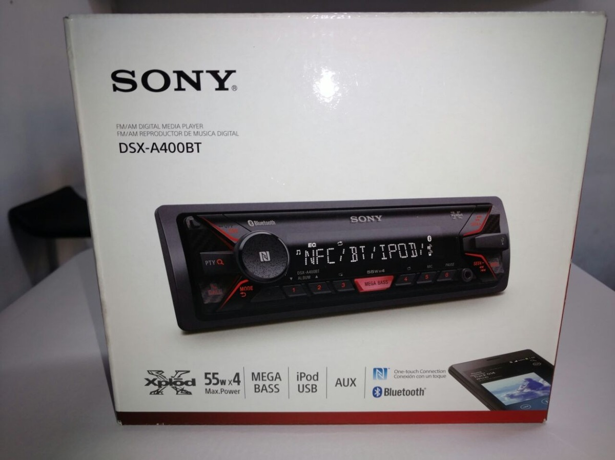 sony xplod dsx a400bt media receiver bluetooth subwoofer aux r 389 89 em mercado livre. Black Bedroom Furniture Sets. Home Design Ideas