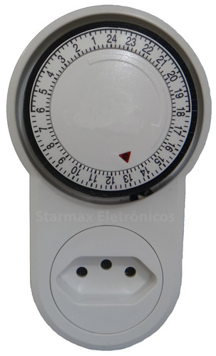 timer temporizador analógico liga/desl. até 96 progr. dia