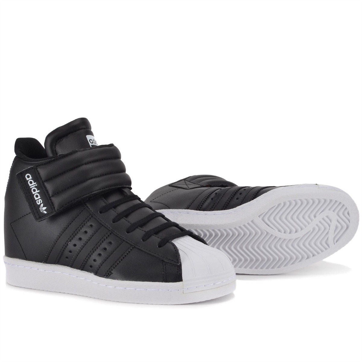 Adidas Superstar Up Strap verde