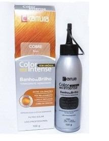 tonalizante c.kamura color intense cobre 100g / celso kamura