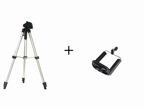 tripe universal aluminio 1.30mt camera filmadora telescopio!