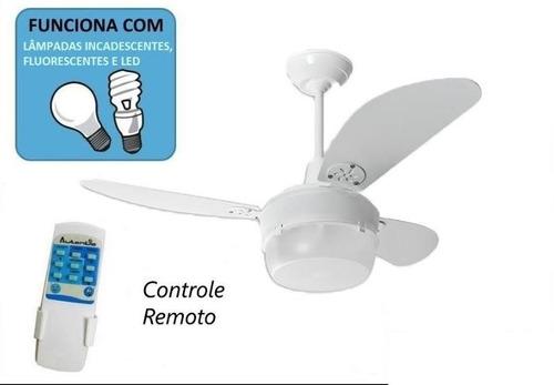 ventilador de teto requinte controle remoto total
