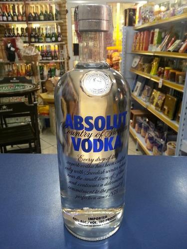 vodka  absolut tradicional  1l