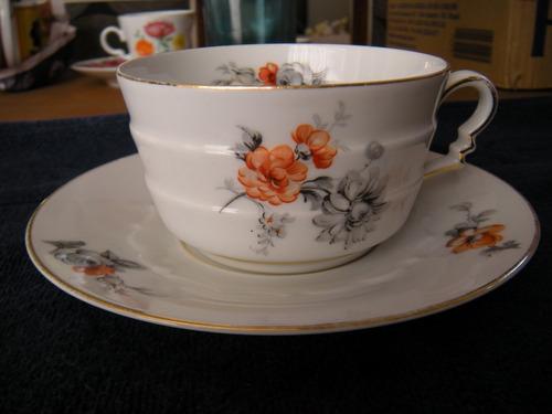 xícara  de chá rosenthal - bavária alemanha