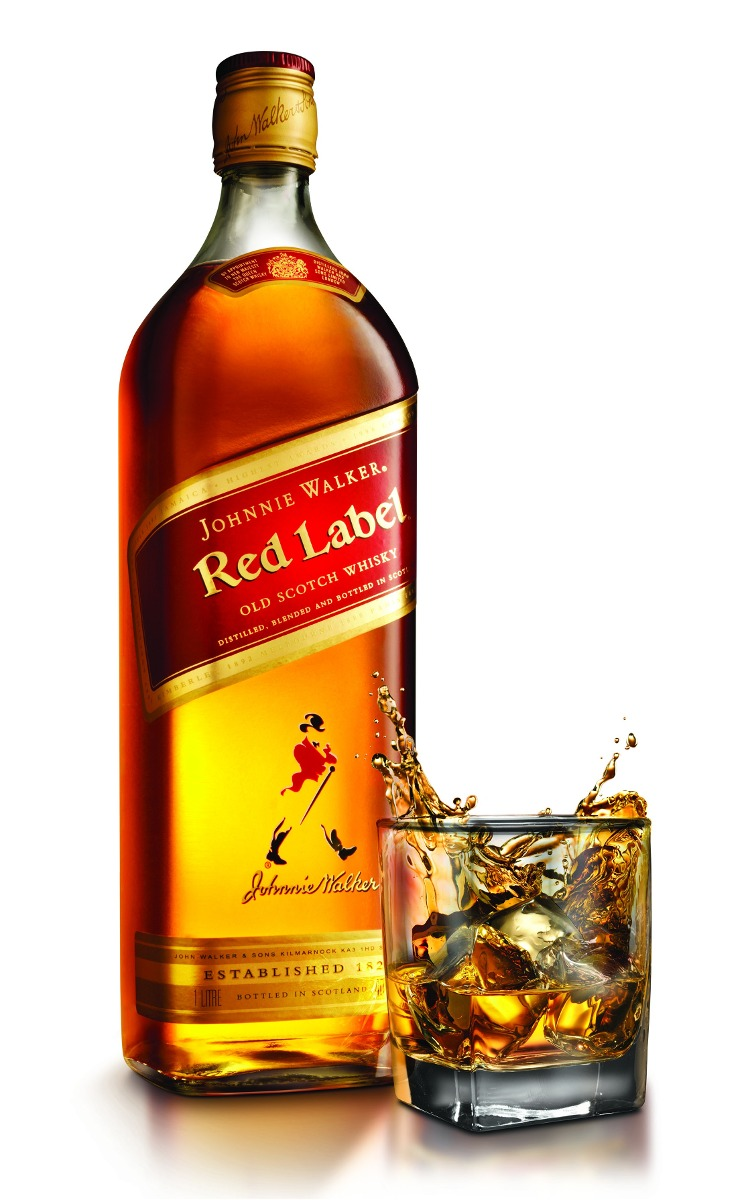It's just a photo of Versatile Whisky Johnnie Walker Red Label 3 Litros